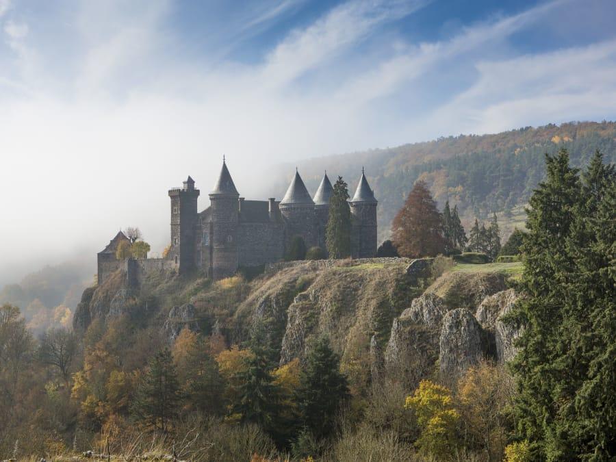 Visite guidée du Château du Sailhant à Andelat (Auvergne)