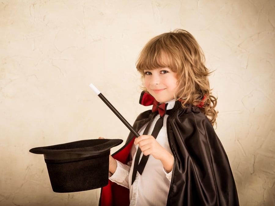 Anniversaire Magie 3-12 ans à domicile