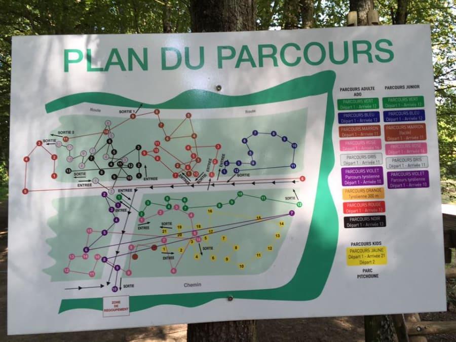 Parcours aventure Accrobranche à Giffaumont (51)