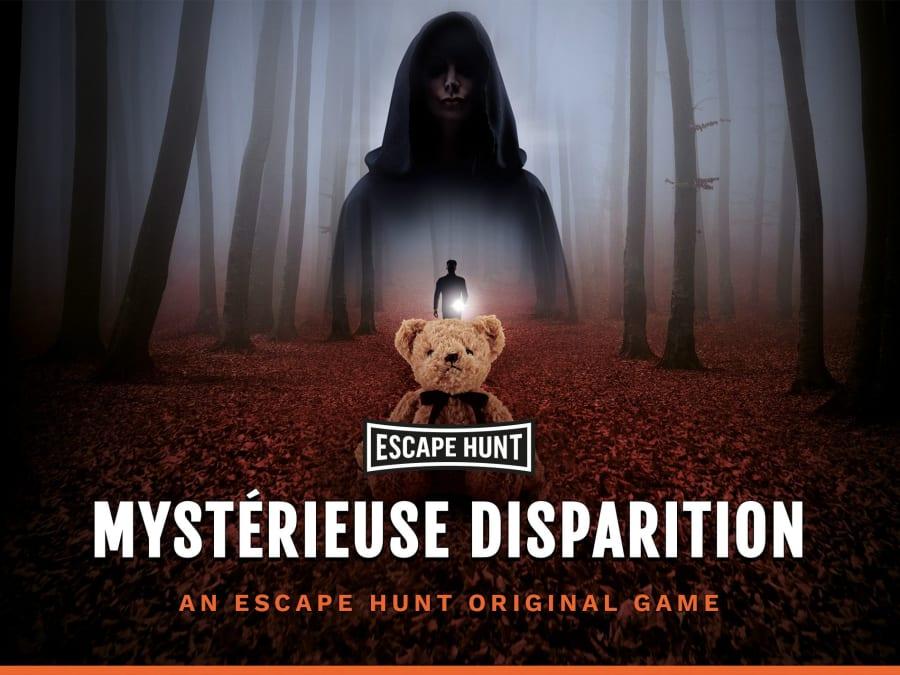 """Escape Game """"Mystérieuse disparition"""" à Belfort (90)"""