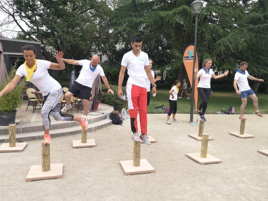 Team Building Olympiades Aventure Koh'Lantours