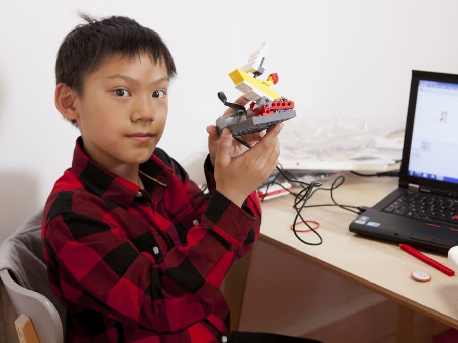 Stage numérique vacances scolaires Lego 9-10 ans (Paris 9)