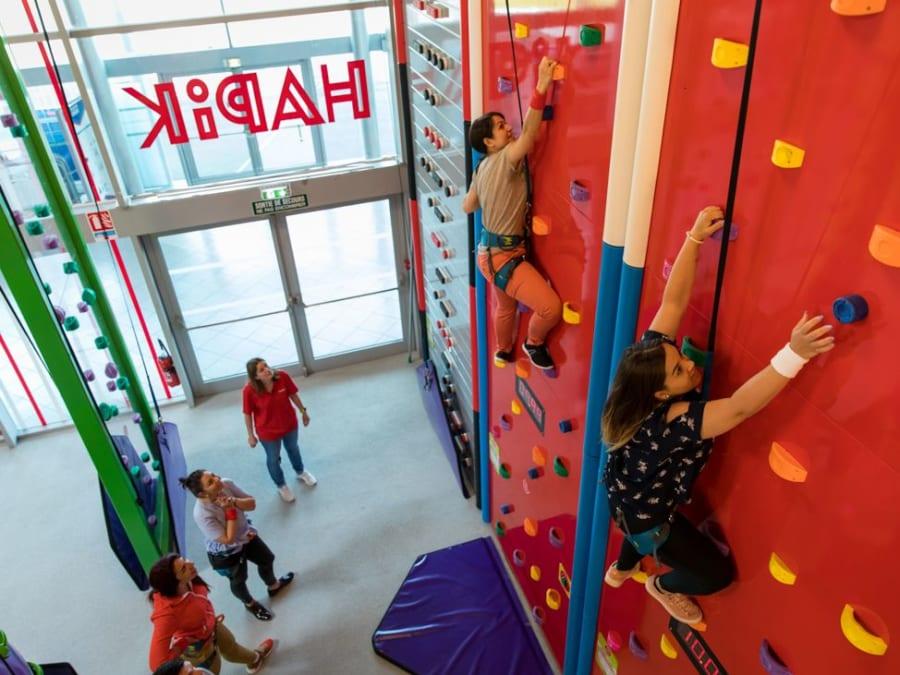 Team Buiding Escalade chez Hapik Chambly (60)