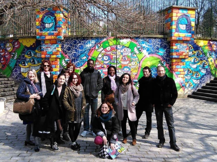 Visite Street Art du quartier de Belleville (20ème)