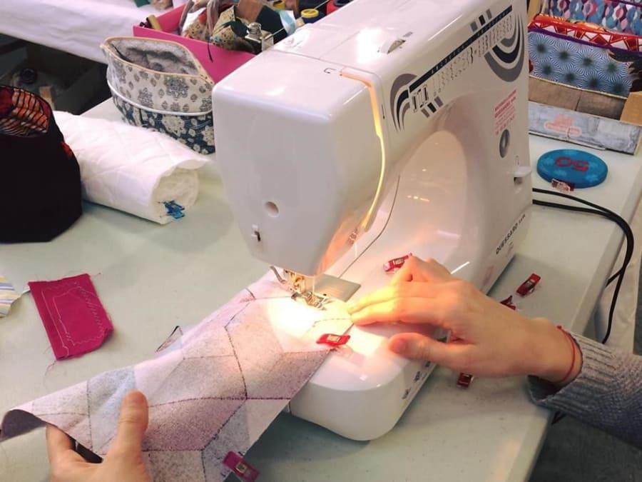 EVJF réalisation d'un projet couture à domicile (33)