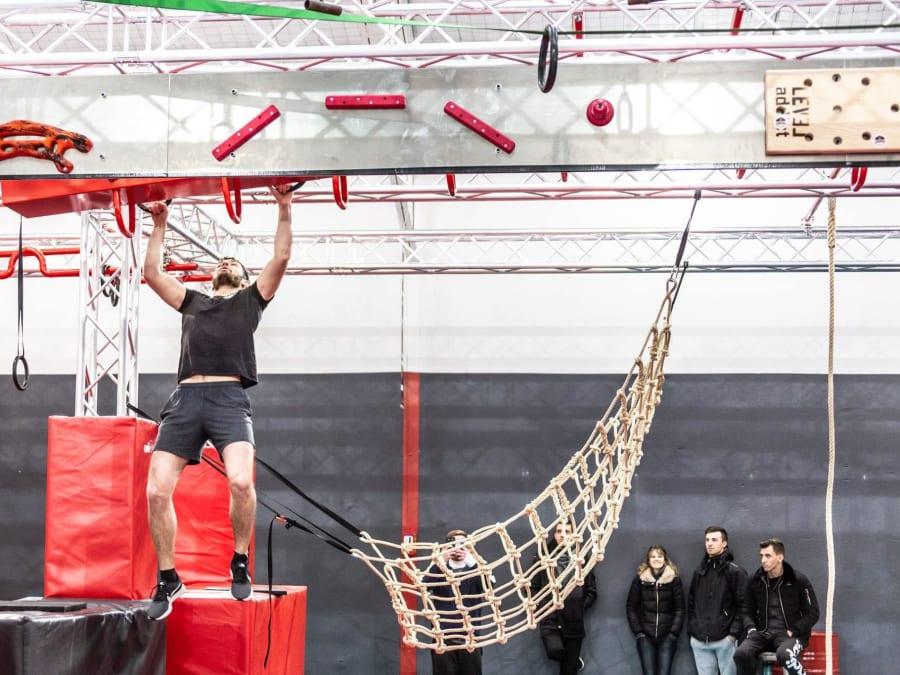 Parcours Ninja Warrior à Villeurbanne proche de Lyon (69)