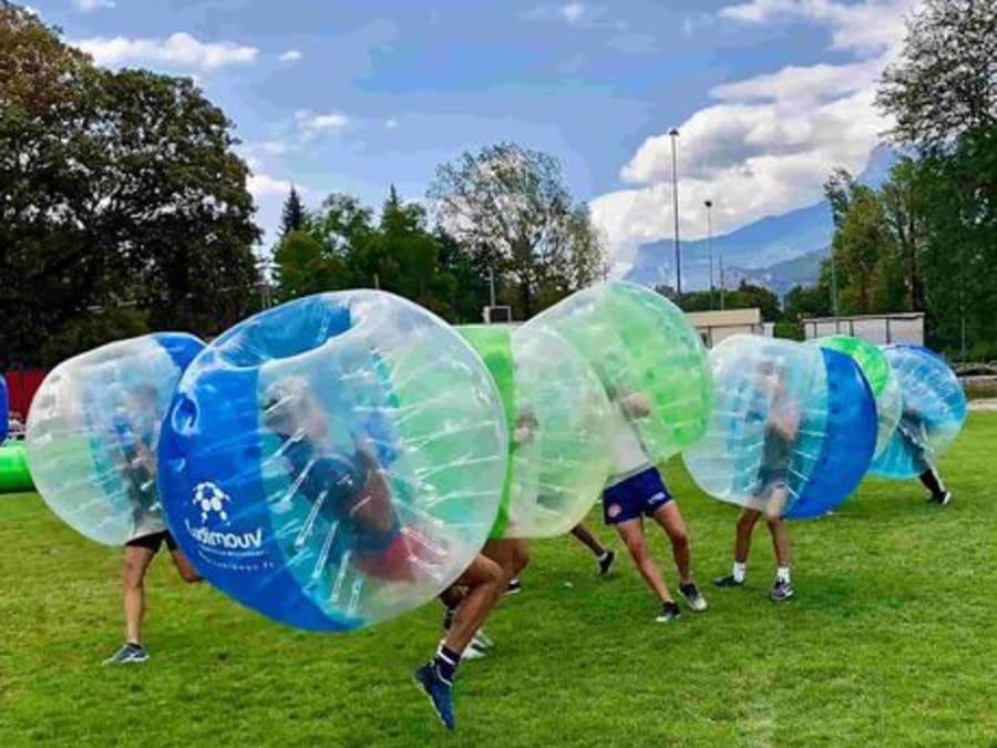 Bubble foot adultes et enfants à Annecy, Haute-Savoie (74)