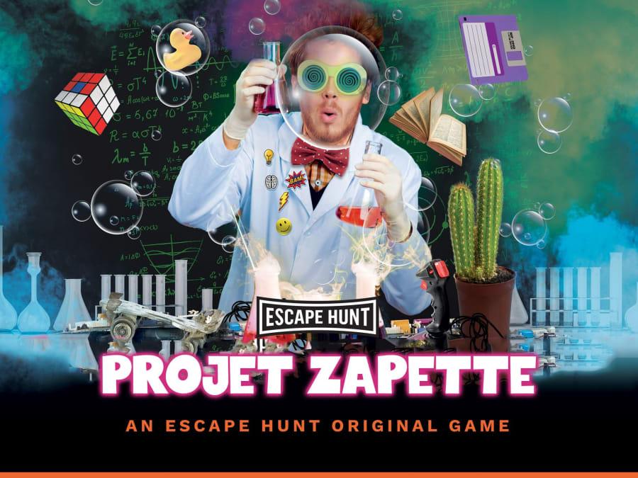 """Escape Game """"Projet Zapette"""" à Metz (57)"""