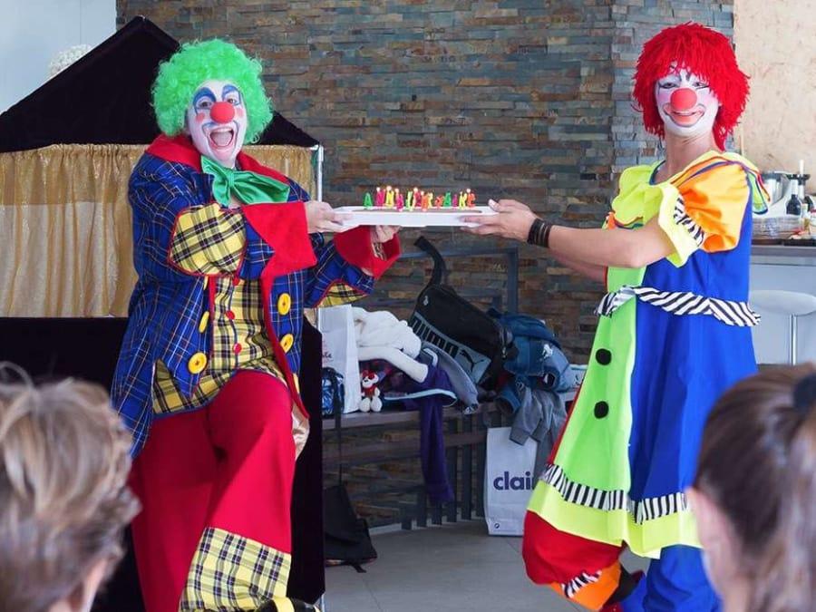 Anniversaire Clown 3-12 ans à domicile (IDF et Reims)