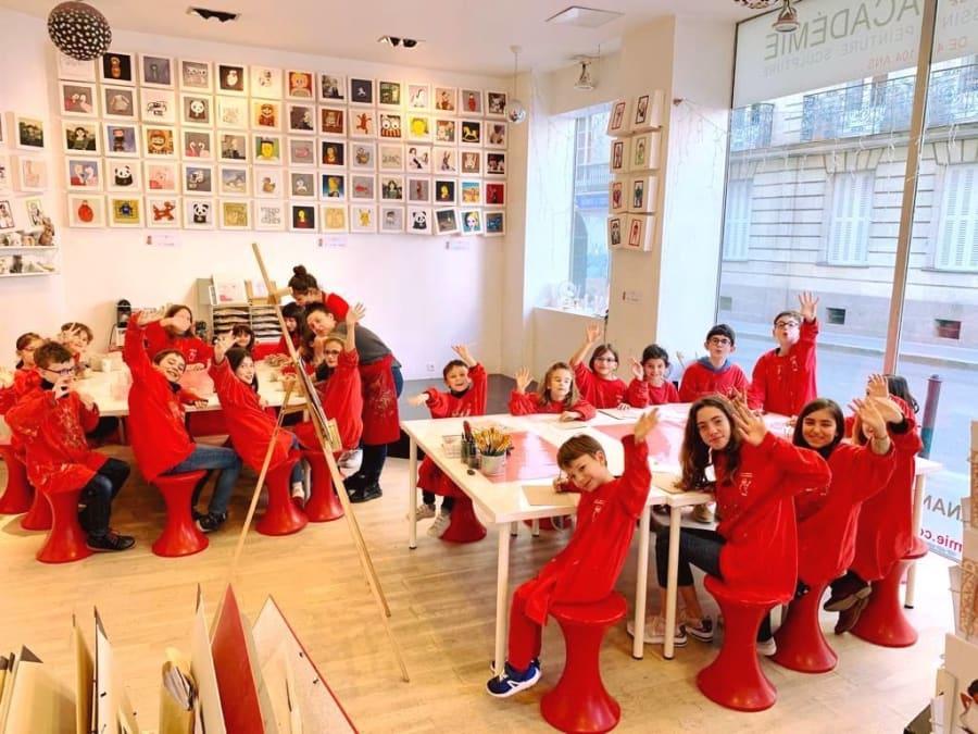 Stage vacances artistiques 4-14 ans à Paris 12ème