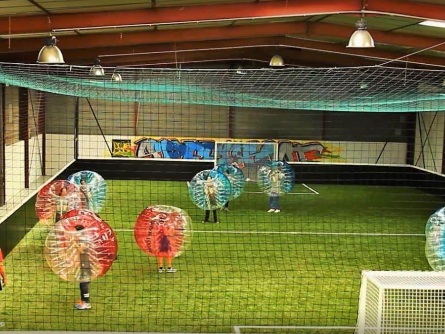 Anniversaire Archery tag et bubble foot proche Grenoble (38)