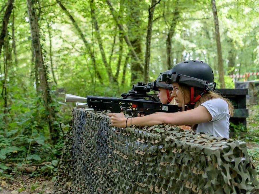 Laser Game Outdoor à Amnéville (Moselle, 57)