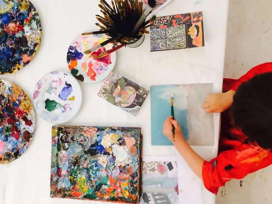 Stage vacances artistiques pour enfants 4/14 ans à Tassin (69)