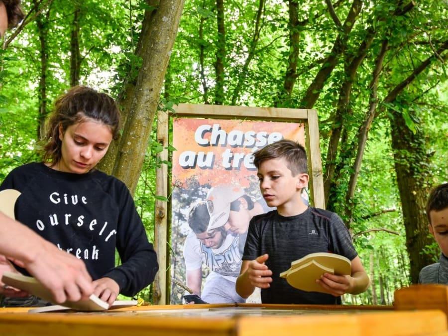 Anniversaire Chasse au trésor 8-14 ans à Chevry-Cossigny (77)