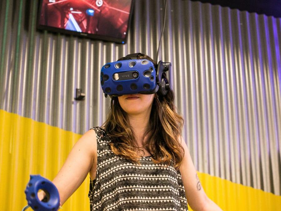 Salle de Réalité Virtuelle aux Halles (Paris 1er)
