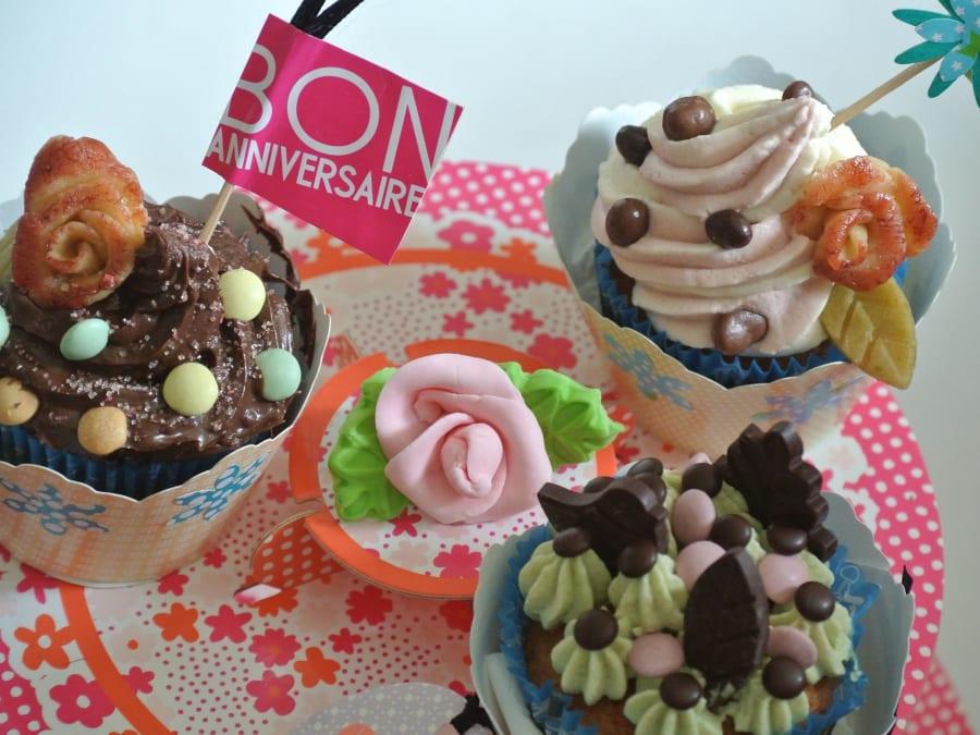 Anniversaire Design Cupcakes à Paris 16ème