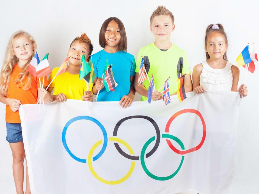 Anniversaire Jeux Olympiques 6-12 ans à domicile
