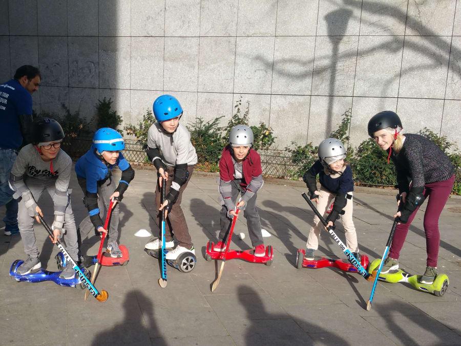 Anniversaire E-hockey en Hoverboard 5-15 ans à Paris 75001