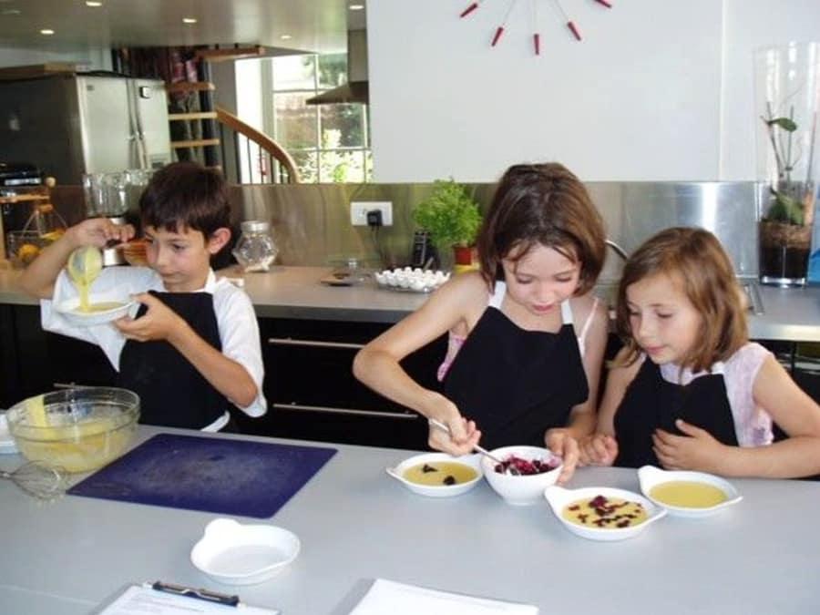 Atelier cuisine pour enfants 6-12 ans à Nice