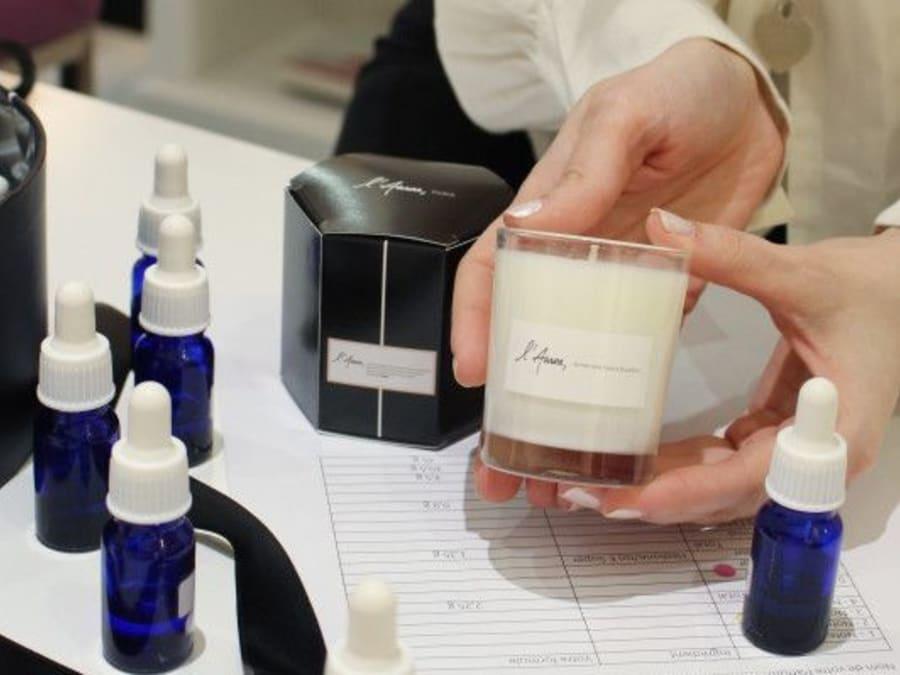 Créez votre propre bougie avec un parfumeur