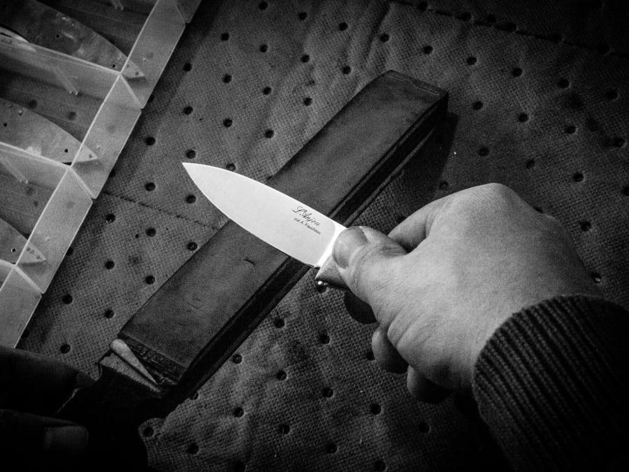 Atelier de fabrication de couteau pliant (1/2 journée)