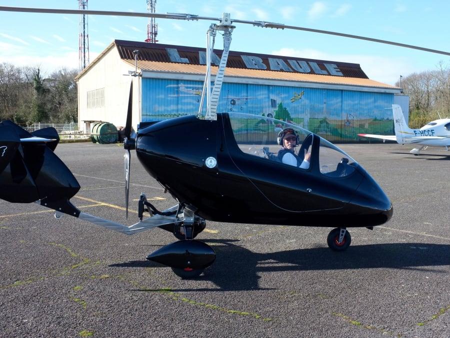 Vol d'initiation en Gyrocopter ou Autogire à La Baule (44)