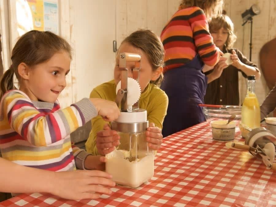 Atelier Beurre & animaux de la Ferme Ouverte de Saint-Denis