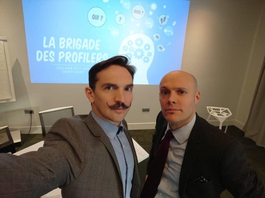 Team Building La Brigade des Profilers à Paris