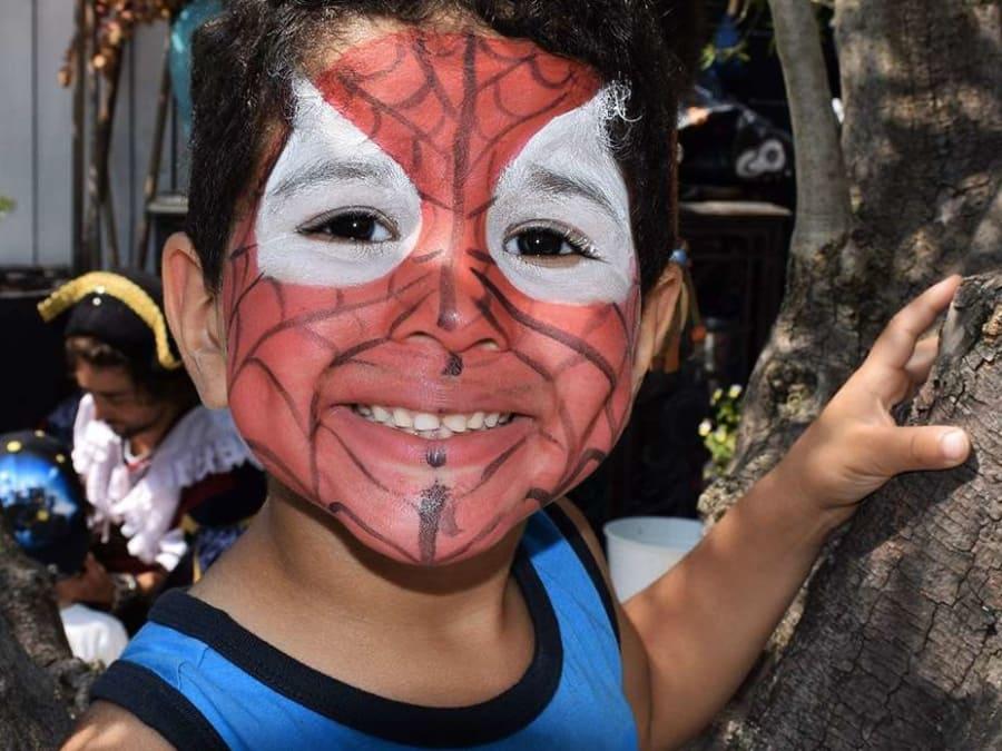 Anniversaire Spiderman 3-12 ans à domicile (IDF)