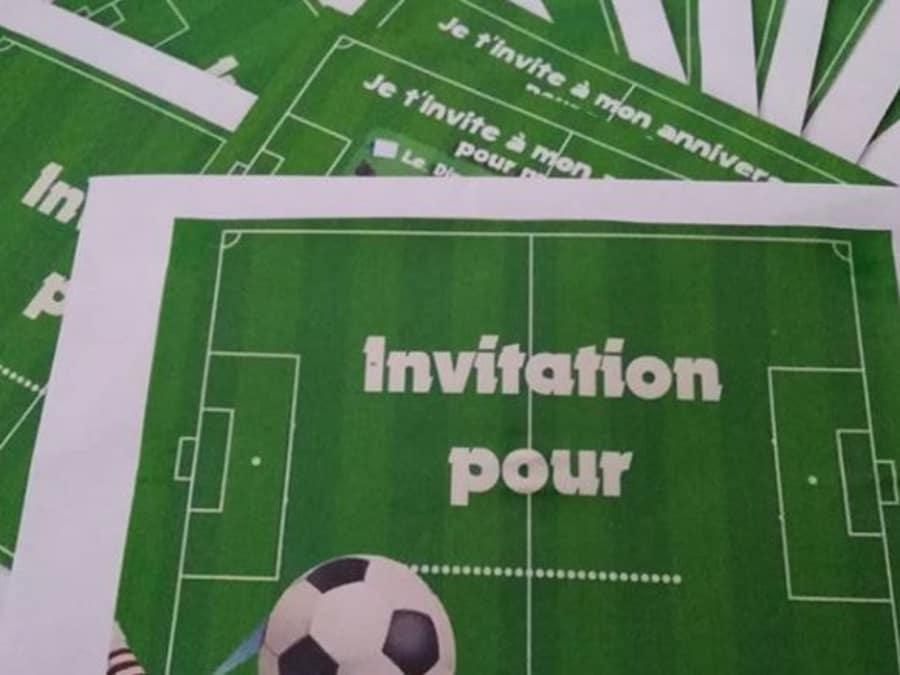Anniversaire Foot 6-12 ans à domicile (Île-de-France)