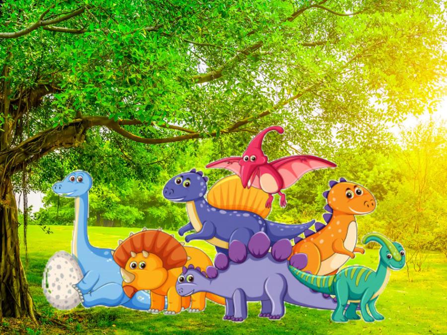 Anniversaire Dinosaures 4-7 ans à domicile (33)