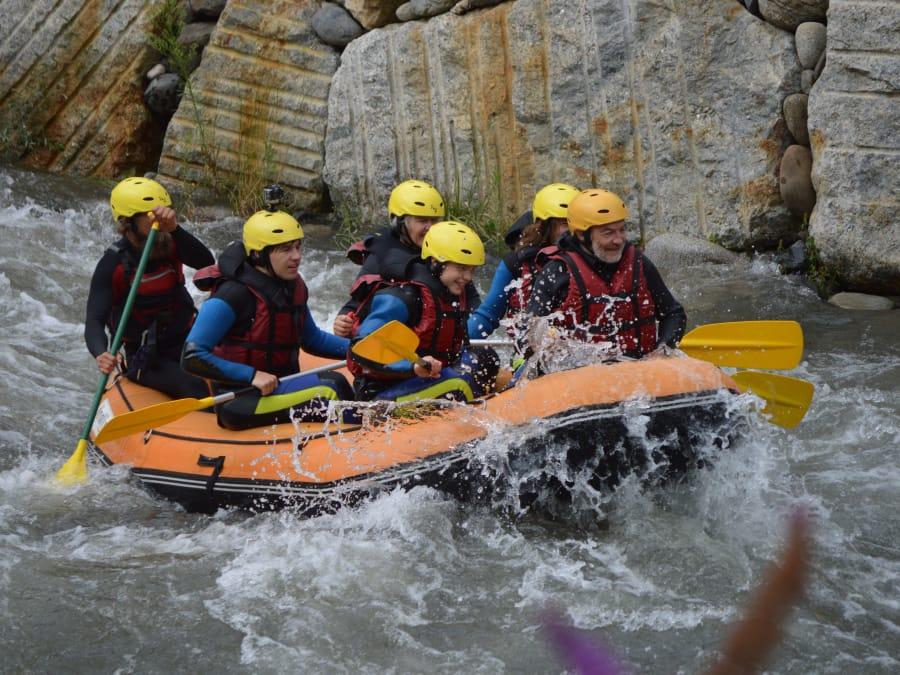 """Sortie Rafting """"sportive"""" sur le Rio Garona Sup"""