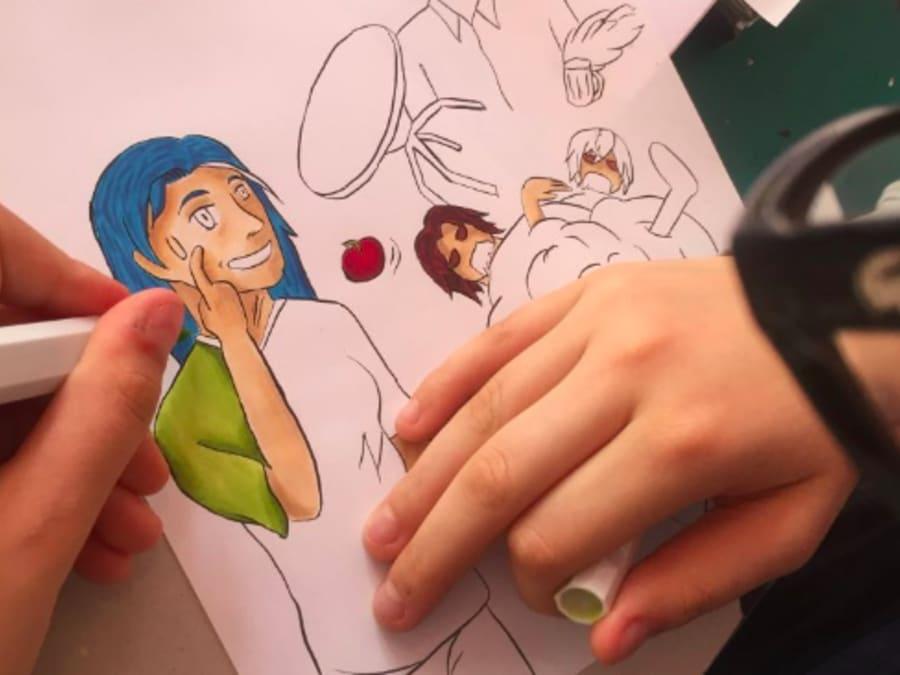 Stage vacances Création de Mangas à Paris 15ème
