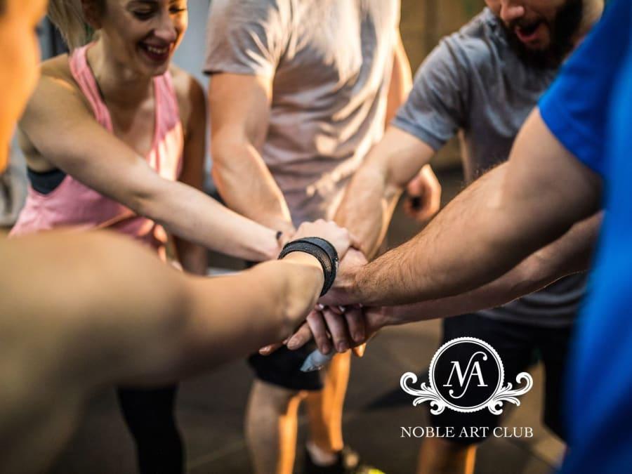 Team Building Initiation à la Boxe au Noble Art Club à Wagram