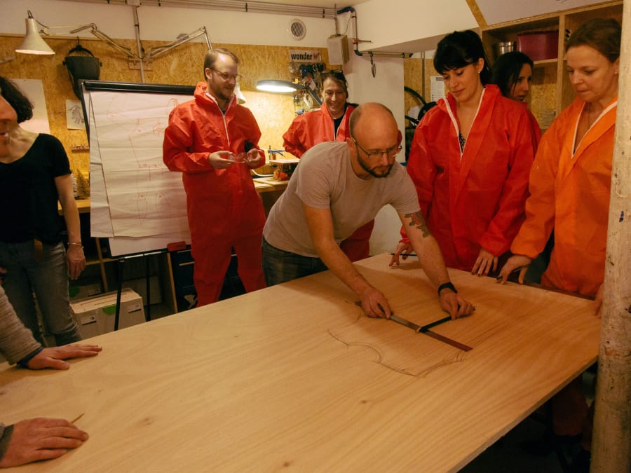 Team Building Atelier Bricolage à Paris 18ème