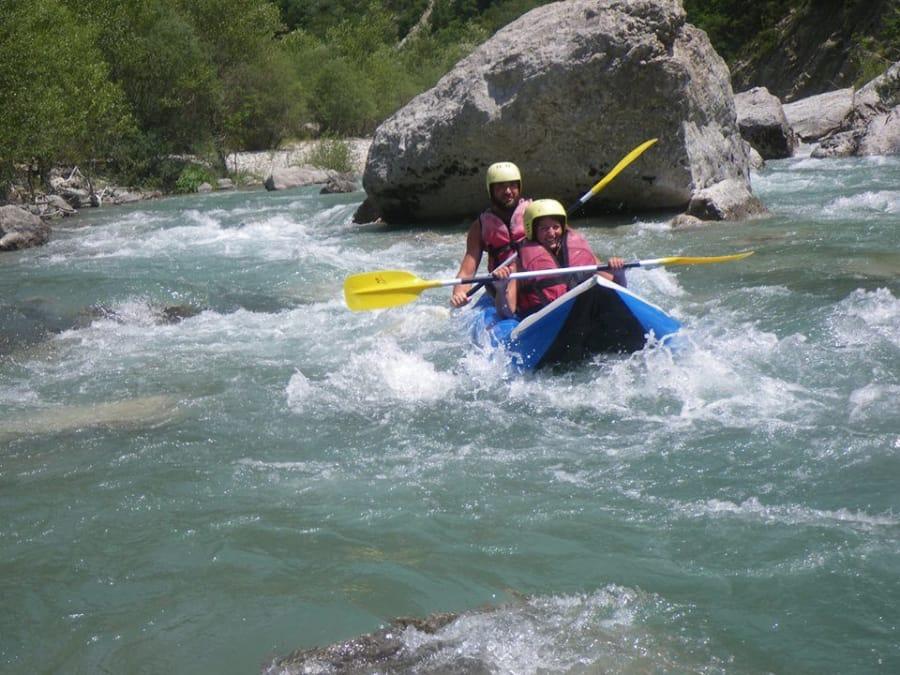 Kayak-Raft découverte du Verdon (04)