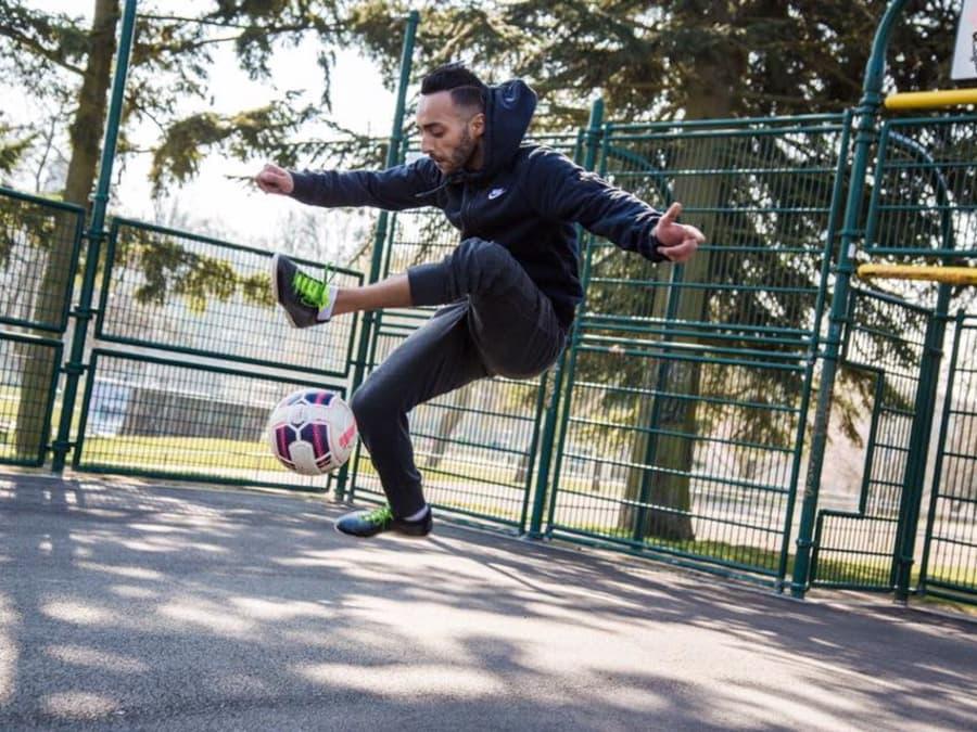 Anniversaire Freestyle Football avec un Champion de France
