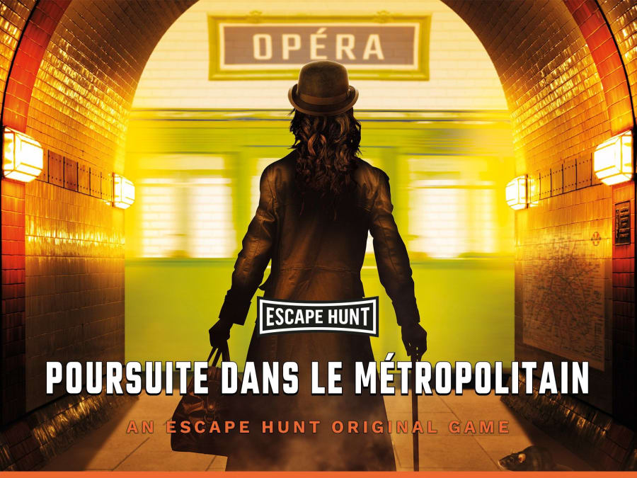 "Escape Game ""Poursuite dans le Métropolitain"" à Paris 2ème"