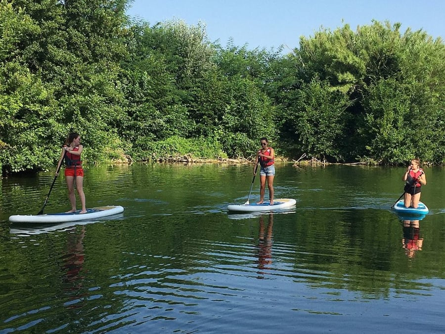 Stand-Up Paddle à Sommières (30)