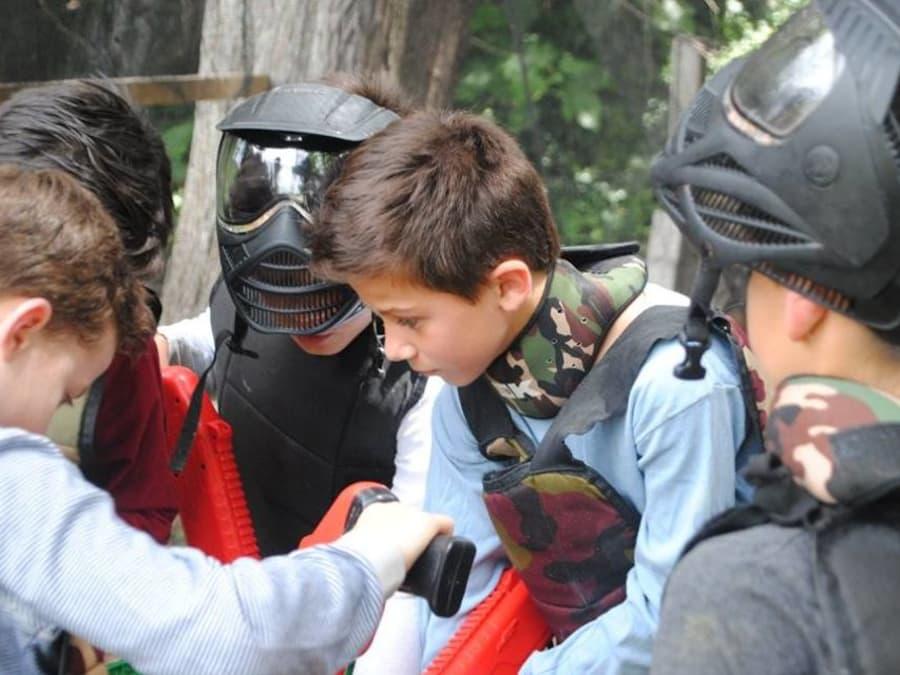 Partie de paintball enfant 8-12 ans à Nîmes (30)