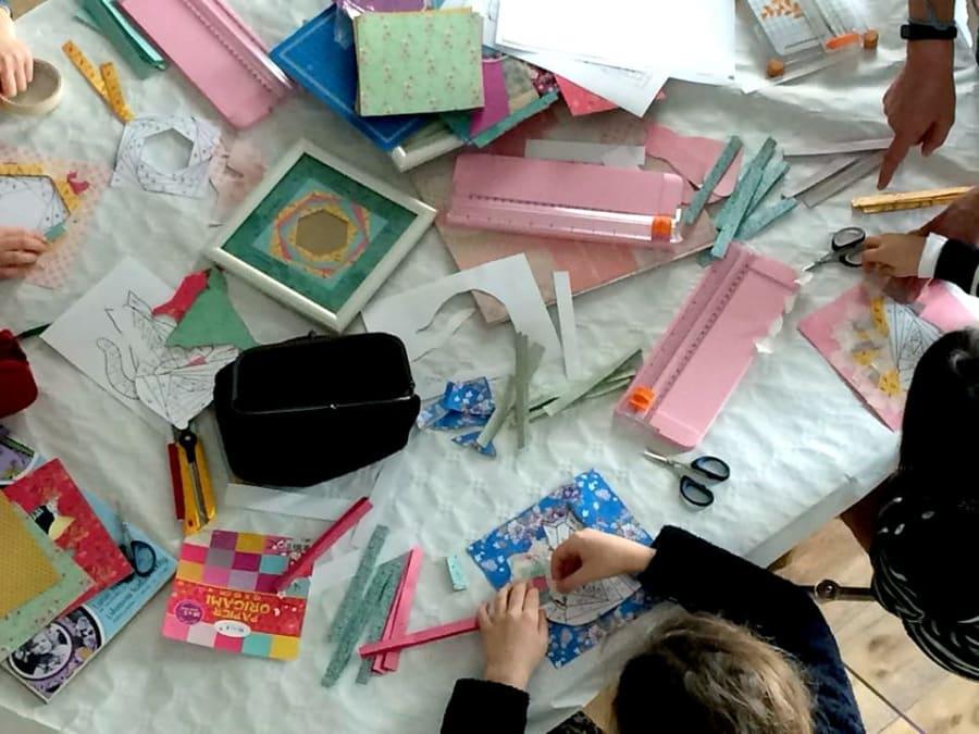 Atelier Créatif pour enfants en entreprise
