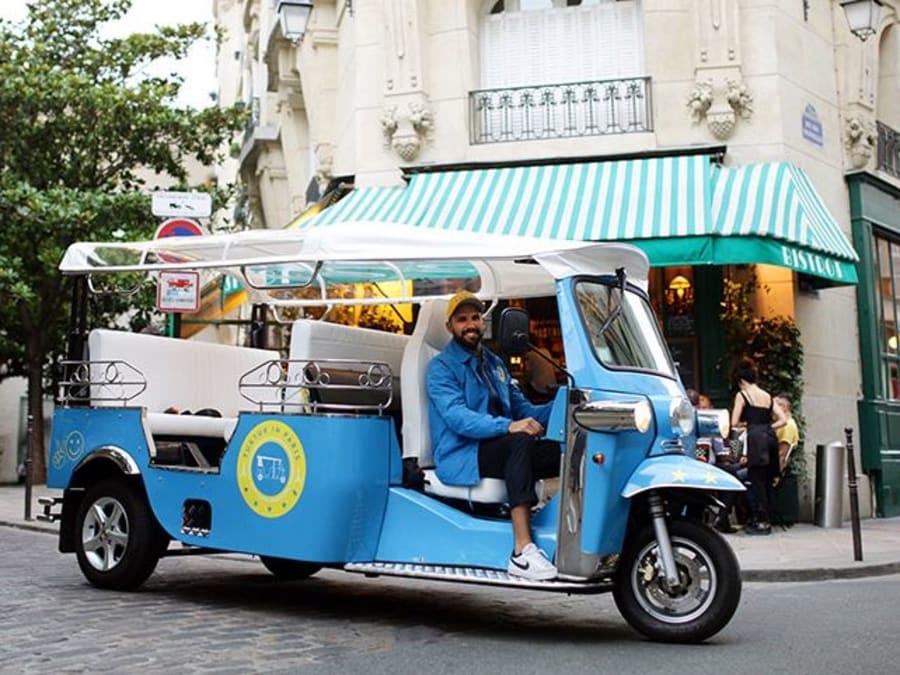 Team Building Réalité Augmentée en tuk tuk électrique à Paris