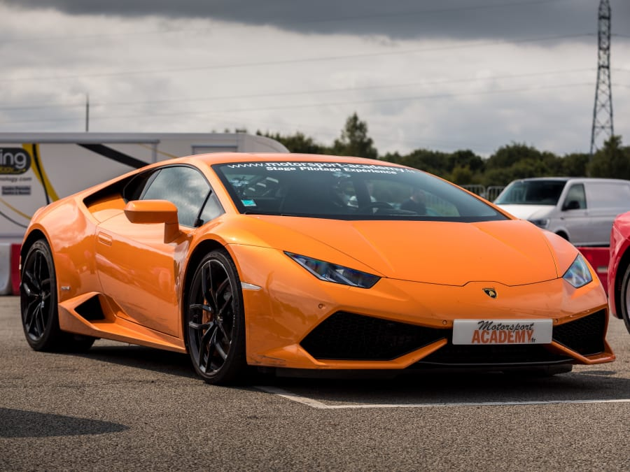 Stage de pilotage Lamborghini Huracán - Circuit Fay de Bretagne