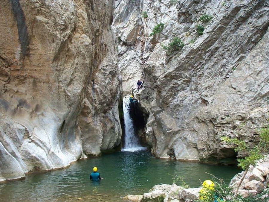 Découverte canyoning à Ancelle, près de Gap
