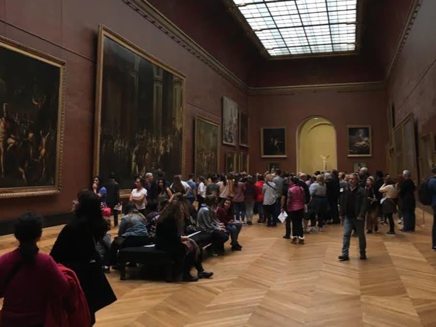 Les chefs d'oeuvre de la peinture du Musée du Louvre
