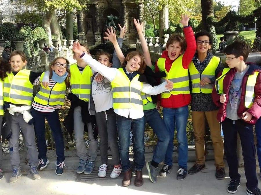 Anniversaire Jeu de piste culturel au Parc Monceau à Paris 8ème