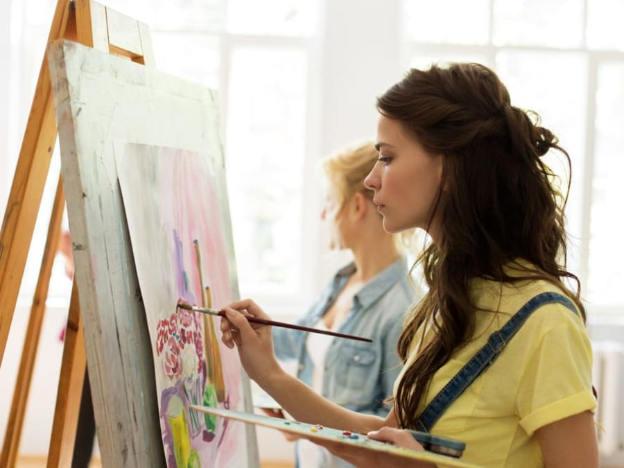 Cours particulier de Peinture sur les quais de Seine