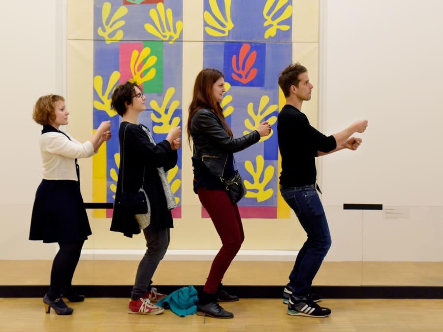 Team Building Défi Polaroïd à Pompidou à Paris 4ème