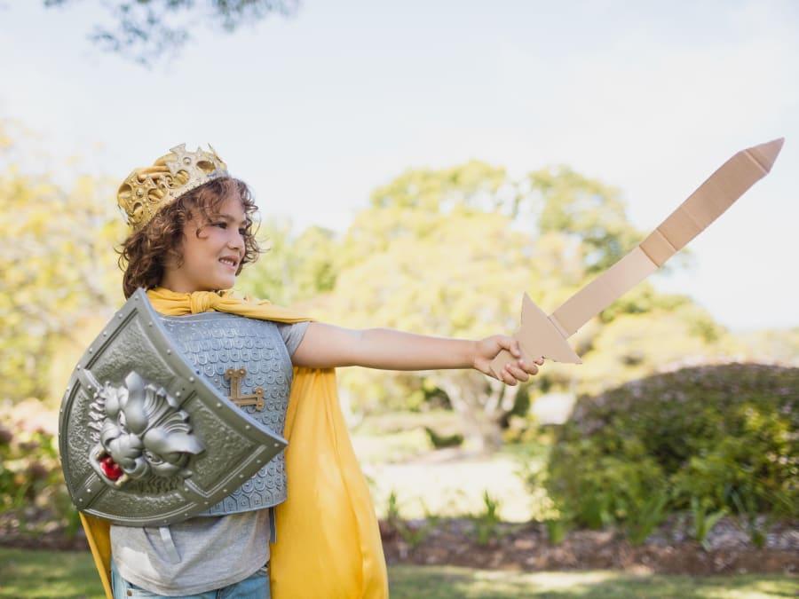 Anniversaire Chevaliers 3-8 ans à domicile
