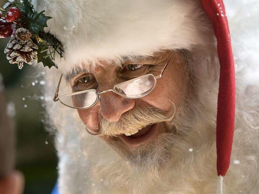 Le Père Noël à domicile !
